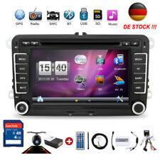 "7"" AUTORADIO 2 DIN GPS NAVI CD DVD BLUETOOTH USB SD Für VW GOLF 5 PASSAT TOURAN"
