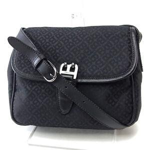 Bally Shoulder bag B logos Black Black Woman Authentic Used Y2625