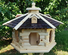 Vogelhaus, Vogelhäuser behandelt braun/natur Typ 37