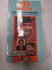 """VHS Tape - """"Red Skelton A Career of Laughter"""" by Video Treasures"""