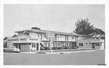 1950s Wagon Wheel Motel Clearwater Florida Kaeser Blair postcard 1111