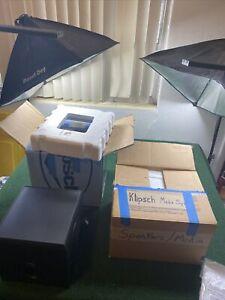 Klipsch ProMedia V2.1 THX Computer Speakers Set (Complete) Great Condition