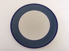 "Gibson Designs China Tavernware Blue Band Dark Blue Ring - 10-7/8"" DINNER PLATE"