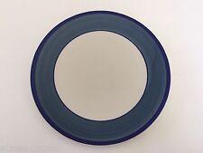 "Gibson Designs China Tavernware Blue Band Dark Blue Ring - 10-7/8"" DINNER PLATE"