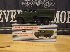 DINKY TOYS No 689MEDIUM ARTILLERY TRACTOR  MINT BOXED