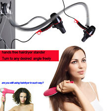 Hands free hairdryer stand, Rolling freely Hair Dryer Holder with suction cup