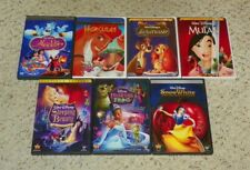 Aladdin, Hercules, Snow White & Sleeping Beauty +++ DVD - 7 Disney DVD Lot