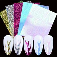 Nagelholographische Streifen Aufkleber für Flame Nail Aufkleber für Nagelkunst