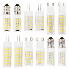 E14 G4 G9 Bombilla LED 6W 9W 12W 220V 230V SMD Lámpara Cerámica reemplazar Halógeno RC