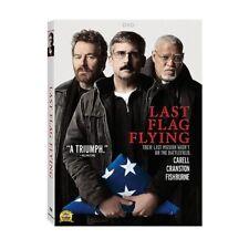 Last Flag Flying,Excellent DVD, Steve Carell, Bryan Cranston, Laurence Fishburne