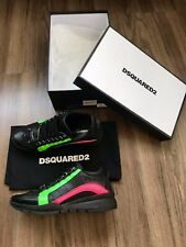 100% AUTHENTIC DSQUARED NEON SNEAKER SCHUHE SHOES 40 GAY MOST WANTED RAR