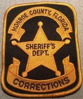 FL Monroe County Florida Corrections Sheriff Patch