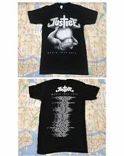Rare Justice World Tour 2012 Ed Banger Records T Shirt Small