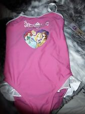 Disney Princess Swimsuit, Swimming Costume, Girls Age 6 Years, Belle, Cinderella