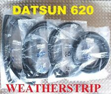 FRONT + REAR + DOOR LH & RH WINDSHIELD WEATHERSTRIP FIT FOR DATSUN 620 TRUCK
