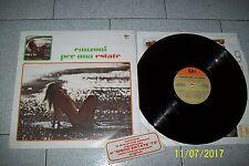 LP CANZONI PER UNA ESTATE  / CGD 69036/1973 ITALY CON ADESIVO 1° ST SEXY COVER