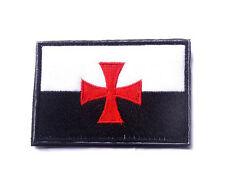 CROSS TEMPLAR CRUSADERS KNIGHTS CHRISTIAN ARMY INSIGNIA EMBROIDERED PATCH sh 578