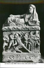PERUGIA, Italy. Archaeology museum Sepulcro Dei Volumni   QR64