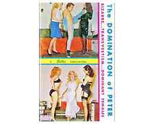Selbee The Domination of Peter Queens in Silk transvestite E-Books on CD