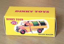 Dinky 252 Refuse Wagon Empty Repro Box Only