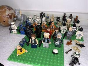 Lego Minifigures Star Wars Job Lot Bundle Minifigs & Accessories