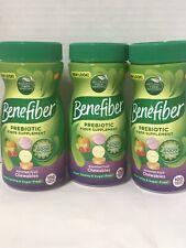 3 BENEFIBER PREBIOTIC FIBER SUPPLEMENT 100 ASST. FRUIT CHEWABLES EX 2/22