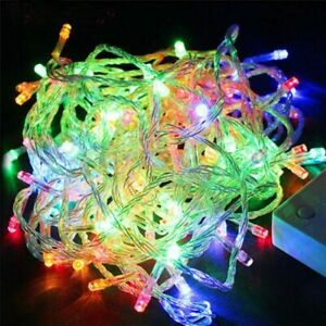 String Fairy Led Decor Wire Light Copper Lights Party Christmas Decoration Gift