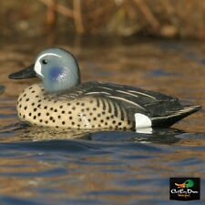 AVERY GREENHEAD GEAR GHG LIFESIZE BLUE-WINGED TEAL DUCK DECOYS WEIGHTED KEELS