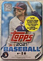 2021 Topps Baseball Series 1 BRYCE HARPER Collectible Tin - Factory Sealed
