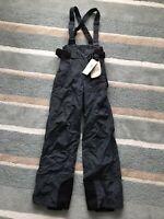 Columbia Pants Salopettes Ski Snowboard Mens Trousers Xs Grey Extra Small