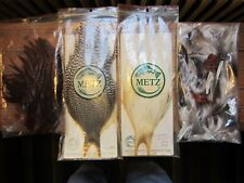 New listing Metz Fly Tying Feather Assortment