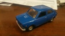 MERCURY 1/43 FIAT 127 BLUE RESTAURATA VERY NICE VERY GOOD VINTAGE