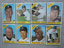 (Lot of 8)  1966 Topps  Detroit Tigers (all different)    NM-Mint