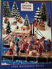Vintage Lefton Colonial Village Reference Guide.1998 Figurines. Colonial Village