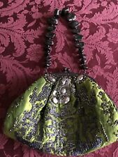 Mary Frances Gorgeous Intricate Evening Bag: Brocade, Rhinestone, Beads & More!