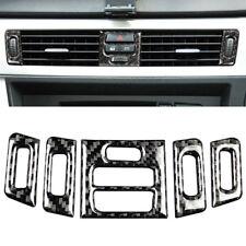 For BMW 3 Series E90 E92 Carbon Fiber Decal Car Air Conditioner Cover Trim New