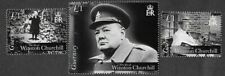 Sir Winston Churchill mnh set-Guernsey-Military