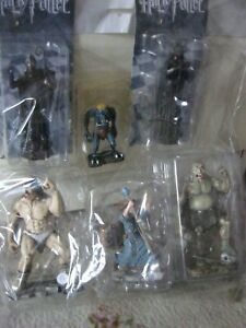 Job lot of 6 fantasy figures trolls & Ogres, Harry Potter all new packaging (A)