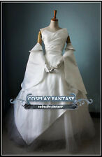 Final Fantasy 15 Luna Wedding Dress FF15 Lunafreya Cosplay Costume Lolita Custom