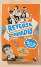 Charades Game Reverse Charades Party Game Kit by Spin Master Everyone ACTS!  NEW