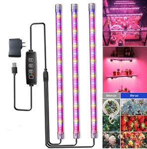 LED Grow Light 3Pack Wachstumslampe für Blumenpflanzenfrüchte leuchtet Gewäc