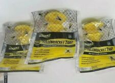 RESCUE YJTD  Disposable Yellowjacket Trap ~ Non-Toxic ~ East, West & More 3-Pack