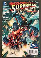 DC Comics Superman Unchained #3 New 52 NM Jim Lee Scott Snyder 2013 WRAITH