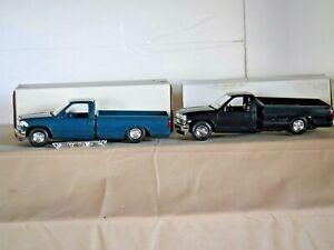 Chevrolet Silverado C-1500 Set of 2 Both Need Repaired Promo Pickup 1/24 (PC-39