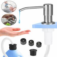 47'Sink Soap Dispenser Kitchen Stainless Steel Hand Liquid Pump Bottle Tube Kit