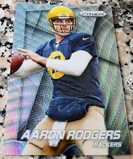 AARON RODGERS 2014 Prizm Blue WAVE SP 60/99 Green Bay Packers Superbowl MVP $$