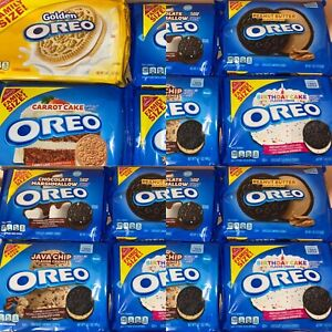Family Size Oreo Chocolate Sandwich Cookies - USA Flavours Imported RARE