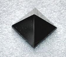 "Pyramid Black Onyx Agate Approx. 1.5-2""-Healing Quartz Crystal - Energized"