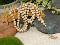 Tulsi Mala Necklace • Yoga Jewelry • Holy Basil • Spiritual Jewelry • 7mm • 2847