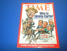 TIME MAGAZINE March 8,1976 JIMMY CARTER LOVE HATE FLORIDA high grade NO LABEL